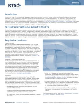 Briefing - COVID-19 Response OSHA Emergency Temporary Standards Subpart U (1)