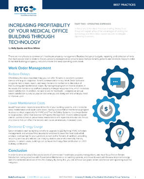 BP - Increasing Profitability of Your MOB Through Technology - Part 2-1