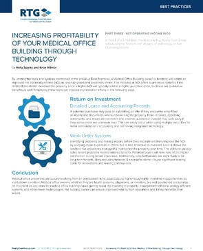 BP - Increasing Profitability of Your MOB Through Technology - Part 3-1